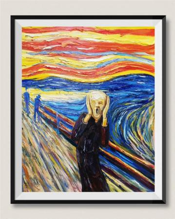The Scream Painting