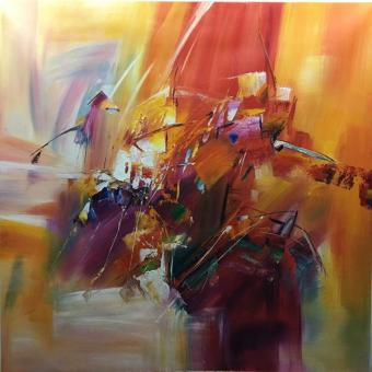 Abstract Oil Paintings for Wall Decor